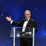 Pierfrancesco Vago, presidente executivo da MSC, agradeceu a presença de todos e celebrou o mais novo produto da frota