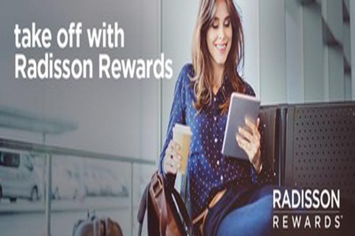 O programa de fidelidade do Radisson Hotel Group permite trocar pontos por milhas aéreas