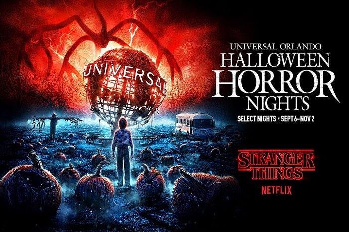 Stranger Things volta ao Halloween Horror Nights da Universal