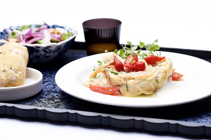Renomado Chef brasileiro elabora novas opções de entrada, prato principal e sobremesa para as classes Economy e World Business Class da companhia
