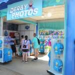 Área para conferir as fotos tiradas na Sesame Street