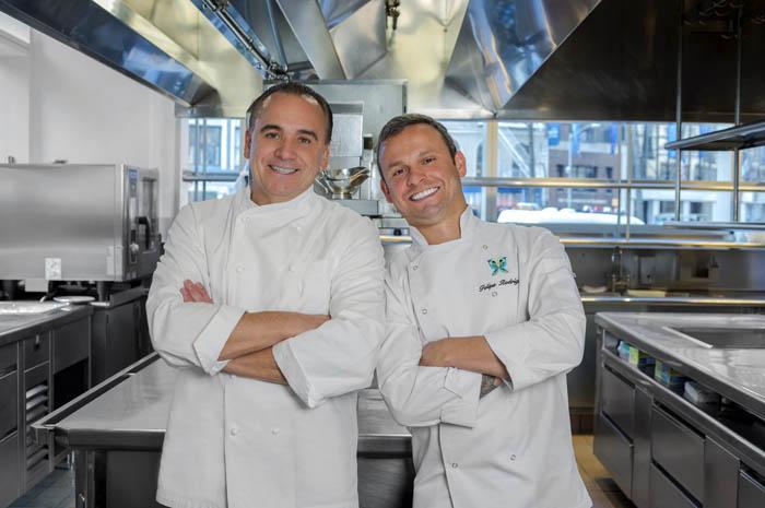 Entre 15 e 17 de abril, os chefs cozinham juntos no estrelado restaurante do hotel três jantares exclusivos com menu de seis tempos
