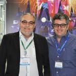 Agnaldo Abrahao e Denis Grant, da B2B Viagem