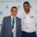 Alejandro Eloy Lastra, secretário de Turismo da Argentina, e Juliano Braga, do M&E