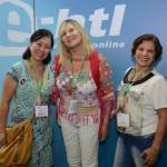 Alice Mitiko, da World Destiny, Benvinda Rodrigues, BR Viagens, e Roseli Castro, da RC Turismo