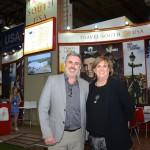 Allan Colen e Liz Bittner, da Travel South USA