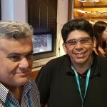 Almir Conti (Bahren ViagensItu) e João Ferreira (Oca TurismoManaus)