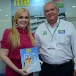 Ana Karin Dias de Almeida Andrade, e Roy Taylor, do M&E
