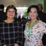 Ana Maria Costa, secretária de Turismo, e Solange Portella, subsecretária de Turismo do RN