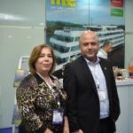 Ana Paula Azevedo, da secretaria de turismo de Minas Gerais e Marcos Vinicius Boffa, Belotur