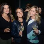 Ana Roberta Perri, da Haus 22 Viagens, Thais Kubo e Luiza Vaz Moreira, da Matueté