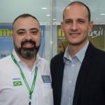 Anderson MAsetto, do M&E, e Rodrigo Napoli, da GJP