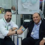 Anderson Masetto, editor do M&E, e Alberto Cestrone, da Resorts Brasil