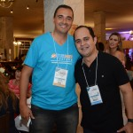 André Luiz, da Turnet, e Eduardo Souza, da Airmet