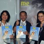 Andrea Chung, representante do Taiwan no Brasil, Tsung-Che Chang, diretor do Superintendente de Taiwan