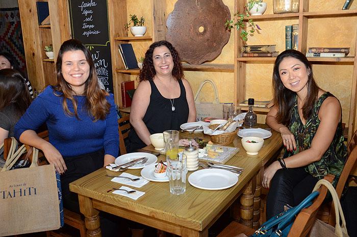 Andressa Diniz, da Teresa Perez, Elaine Spirlandeli e Ana Taquecita, da New Age