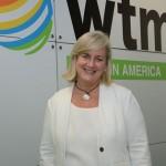 Annette Taeuber, diretora geral do grupo Lufthansa no Brasil