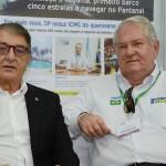 Arialdo Pinho, secretário de Turismo do Ceará, e Roy TAylor, do M&E