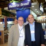 Aristides de La Plata Curi, do Skal, e Alberto Cestrone, da Resorts Brasil