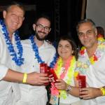 Aroldo Schultz, Rafael Turra, Ana Santana e Rodney Rocha, da Schultz
