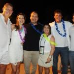 Aroldo e Andrea Schultz, Jair Galvão, Ana Santana, Irenio Junior e Milton Vasconcelos