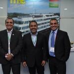 Bruno Mesquita, Diretor Operacional da JPA, Claudio J.S Junior, Diretor Comercial da JPA e Breno Mesquita, Diretor Geral de Marketing, da JPA
