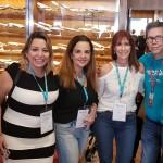 Camilla, Junia e Cássio, da Ancoradouro, com Thais Oliveira (Embarque Rápido Campinas), Bruna Reis (Asas TurCampinas) e Mísia Maitiz (Ancoradouro Maranhão)