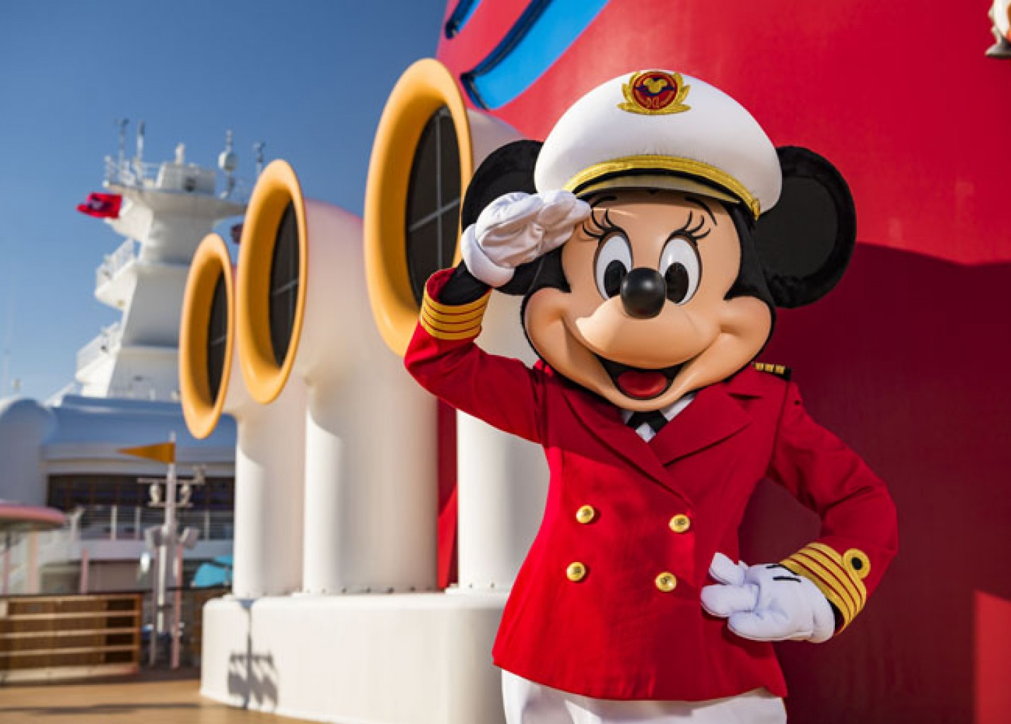 Disney Cruise Line apresenta Capitã Minnie Mouse