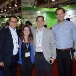 Carlos Barbosa, de Aruba, Fernanda Teixeira, da Vitrine Global, Rodrigo Vaz e Rodrigo Galvão, da CVC Corp