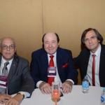 Carlos Cabral, Embaixador da Invino, Davide Marcovitch, da Chandon, e Jean-Philippe Pérol, da CapAmazon