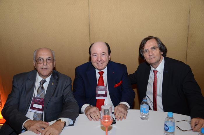 Carlos Cabral, Embaixador da Invino, Davide Marcovitch, da Chandon, e Jean-Philippe Pérol, da Cap Amazon