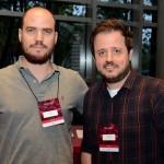Carlos Coltro, da Xtravel e Danilo Fiorani, da OWT Travel