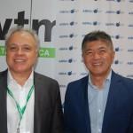 Carlos Prado, e Gervásio Tanabe, presidente e diretor executivo da Abracorp
