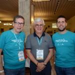 Cassio Oliveira, Juarez Cintra Filho e Daniel Castanho, da Ancoradouro
