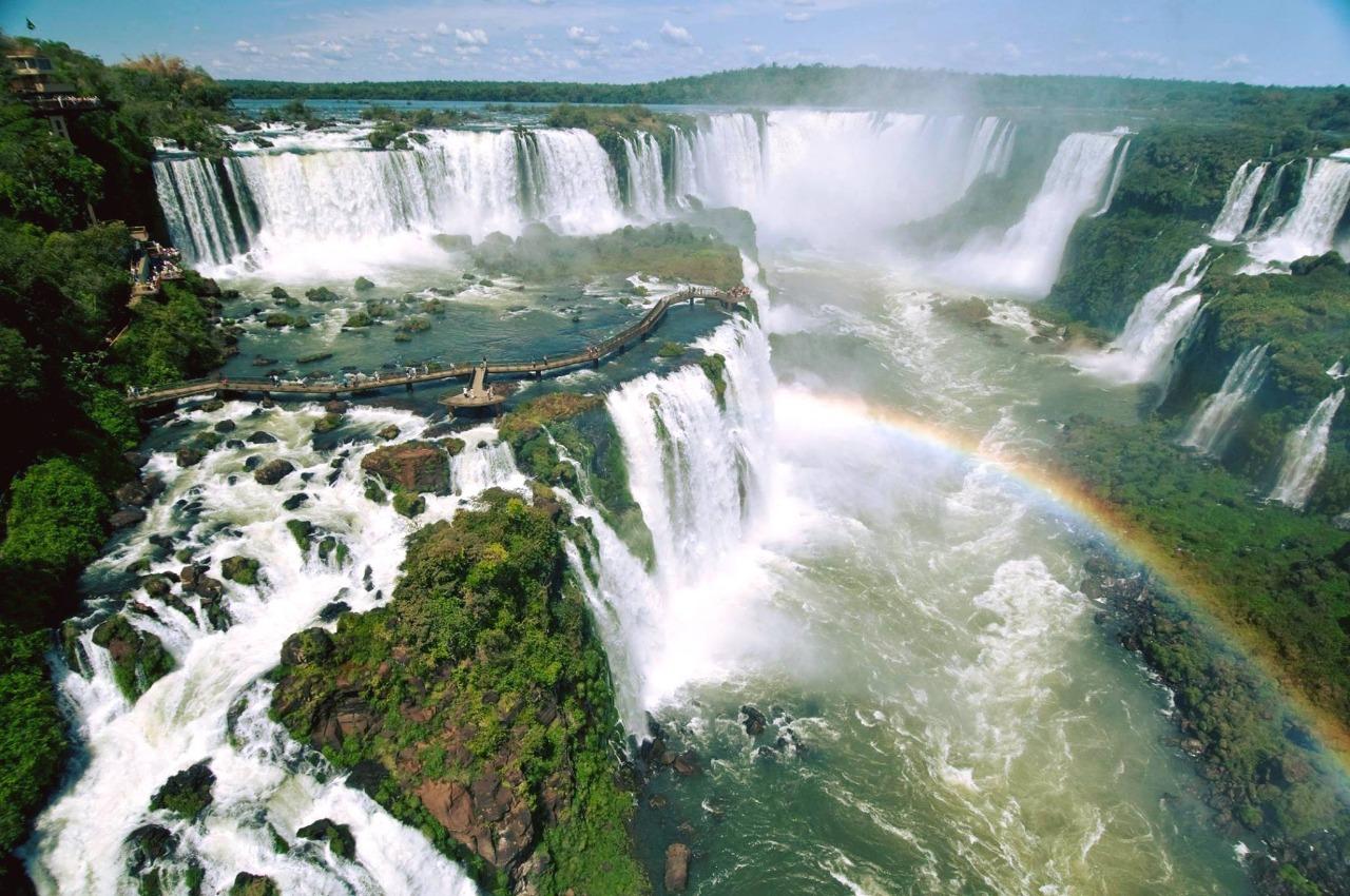 Cataratas do Iguaçu, o principal atrativo de Foz