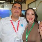 Cesar Opitz, do Chile, e Patricia Bastos, da Bastour Operadora