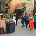 Chegada dos convidados à festa de inauguração da Tigris