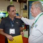 Claiton Armelin, da CVC Corp, e Roy Taylor, do M&E