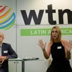 Claud Blanc e Luciane Leite, da WTM-LA