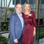 Claude Blanc e  Luciane Leite, da WTM