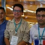 Denis Oliveira (Prime Turismo Macapá), Carlos Leite ((Turismo Leite Macapá) e André Santos (Sonave Turismo Macapá)