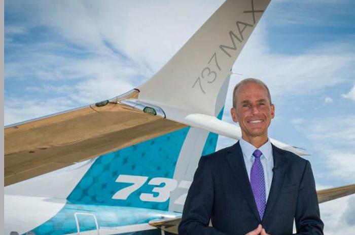 Dennis Muilenburg, CEO da Boeing