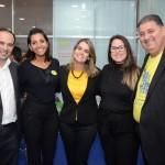 Diego Rocha, Paula Gouveia, Ana Paula Vilaça, Ana Luiza Accioly, da Empetur, e Mustafá Dias, da Seturel