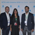 Diego Valdecantos,Secretário de Turismo, Nadia Loza, da Inprotur Salta e Patricio Barbarán, do Design Suites