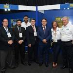 Diretoria da Aviesp e Vinicius Lummertz visitaram o estande do Mercado&Eventos
