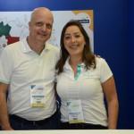 Dorival Ubertini e Renata Leite, do Iberostar