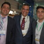 Elizeu Gonçalves, Carlos Nunes, e Diego Garcia, da Nobile