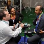 Entrevista com Ethiopian no estande do M&E