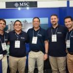 Equipe da MSC Cruzeiros