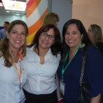 Erica Villas da Bedsonline Brasil, Renata Melo da Kaluah  Tour e Adriana Santos da Hotelbeds Group USA